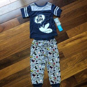 Mickey Mouse sleep set pajamas